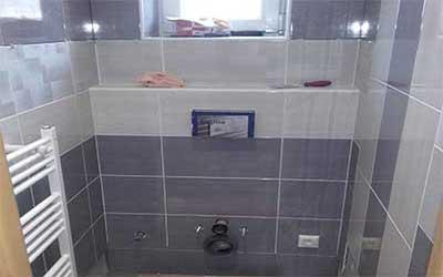 Rekonštrukcia kúpeľne v dome