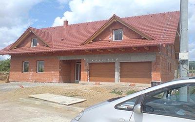 Dom s podkrovím na vidieku