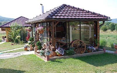 Záhradný domček celoročne